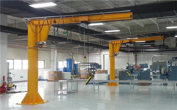 0.5t-2tBZ型立柱悬臂起重机主要性能及技术参数