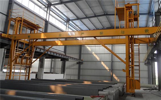 QESF铝型材专用氧化起重机