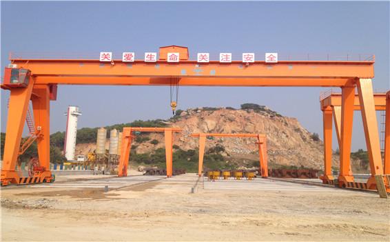 32t双梁门式起重机主要性能及技术参数